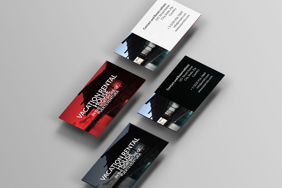 Rent My Home Business Cards
