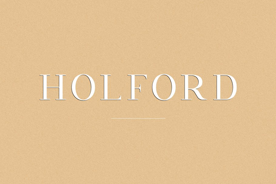Holford - Elegant Serif Font