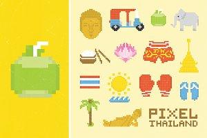 Pixel Thailand set