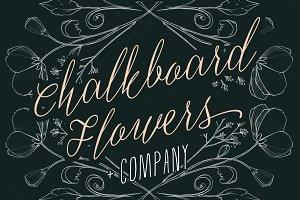 Chalkboard Flowers & Company