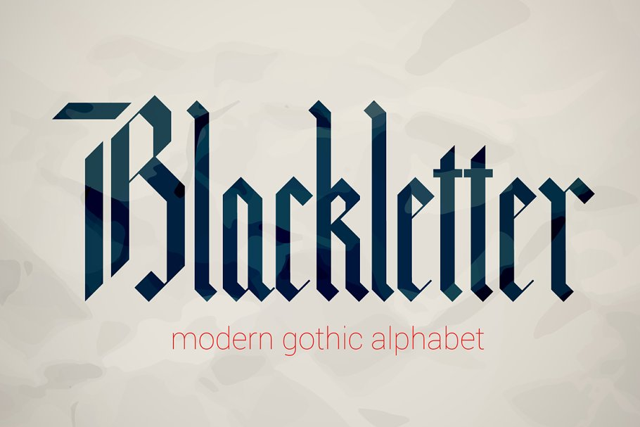 Blackletter modern gothic font  ~ Blackletter Fonts