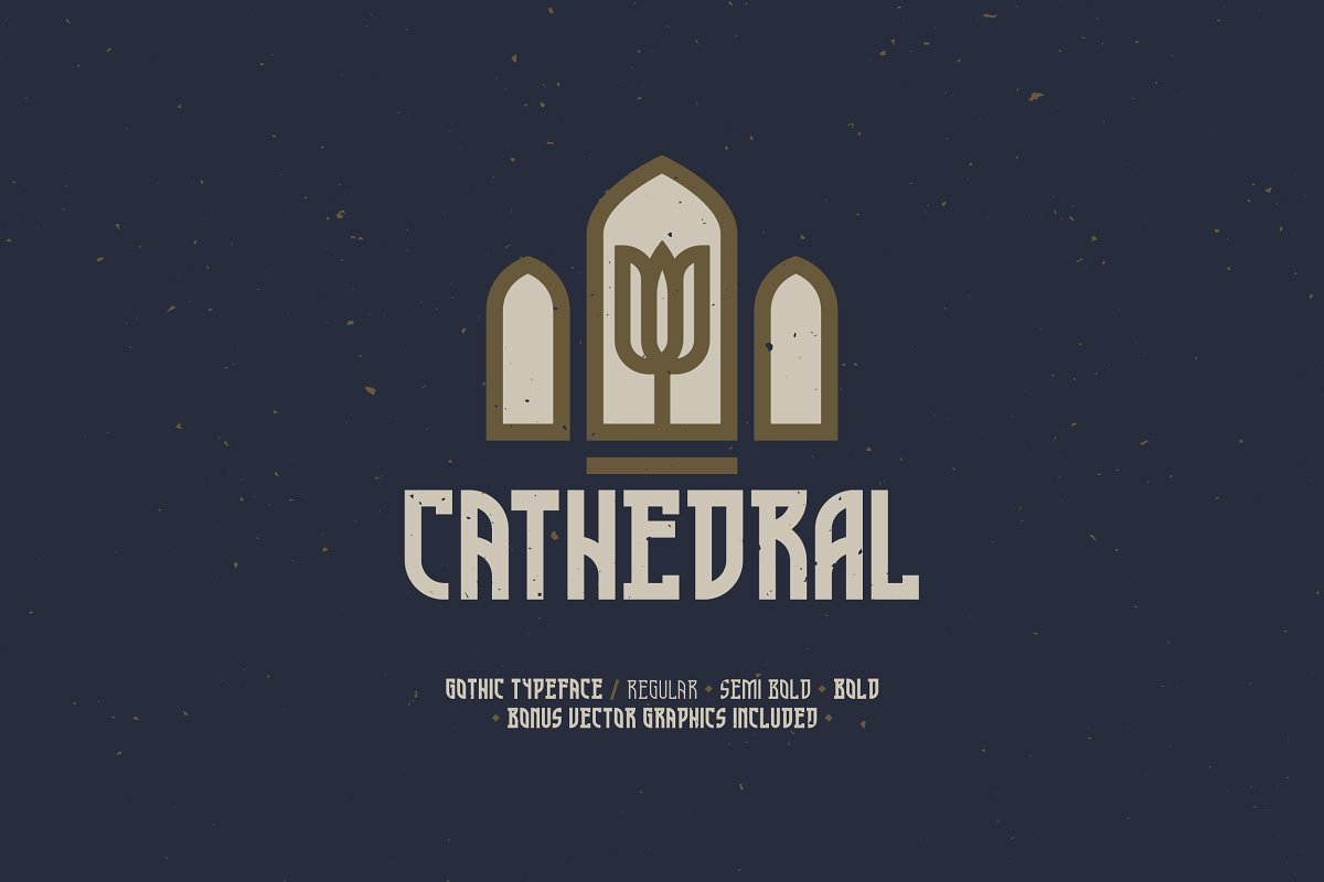 Cathedral — Display Typeface