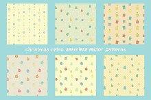 Christmas seamless vector patterns