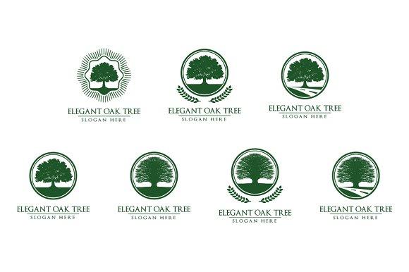 Green Oak Tree Logo vol 2