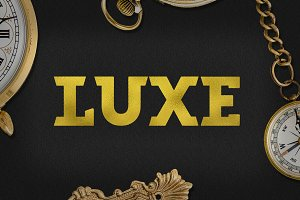Luxe Font