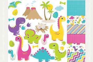 -35% Dinosaurs (Girl) Design Bundle