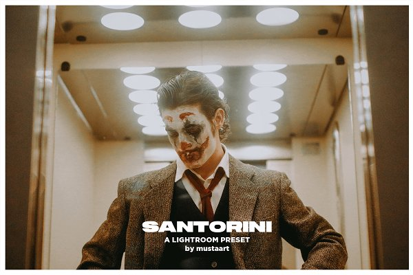 Santorini - Cinematic LR Presets