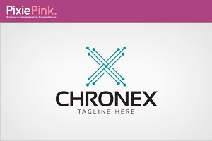 Chronex Logo Template