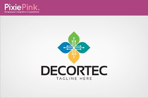 Decortec Logo Template