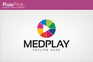 Med Play Logo Template