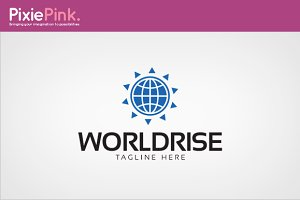 World Rise Logo Template