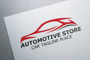 Automotive Store Logo