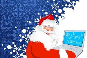 Santa Claus, internet