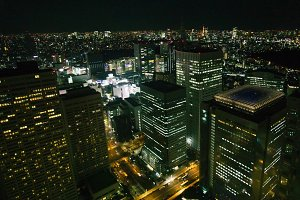 Tokyo Cityscape by night