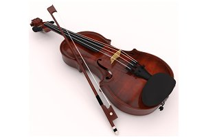 Set of violin