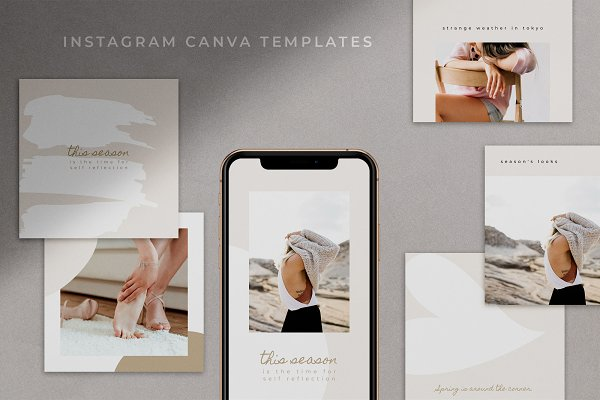 Instagram Canva Templates | Adie