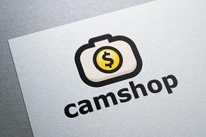 Camera Shop Logo