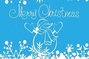 Merry christmas, Snowman