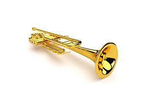 Set of trumpet