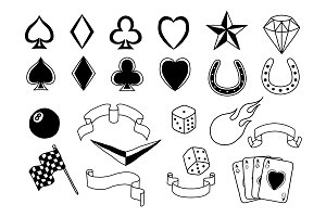 Rockabilly vector pack