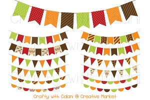 Thanksgiving Digital Bunting