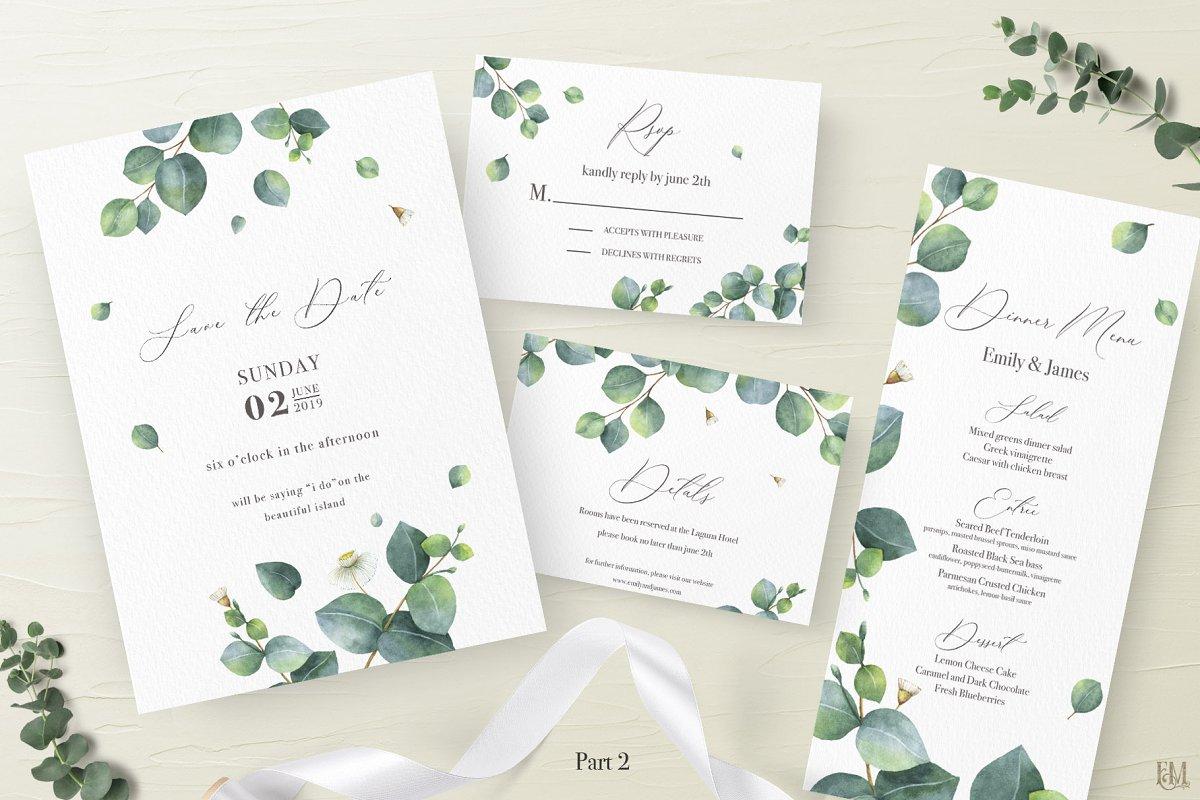 Wedding Eucalyptus Suite. Part 2