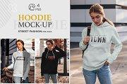 Hoodie Mock-Up Street Fashion vol.4