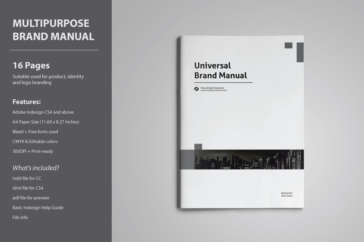 Cool Indesign Manual Template Pictures Inspiration - Professional ...