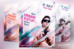 Urban Future Flyer Template