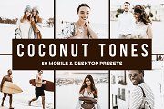 50 Coconut Tones Lightroom Presets