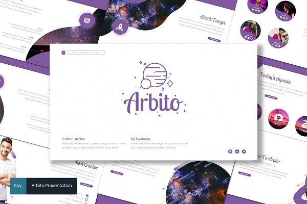 Arbito - Keynote Template