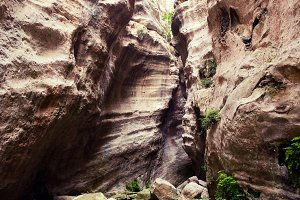Avakas gorge canyon