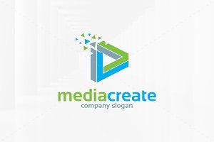 Media Create Logo Template