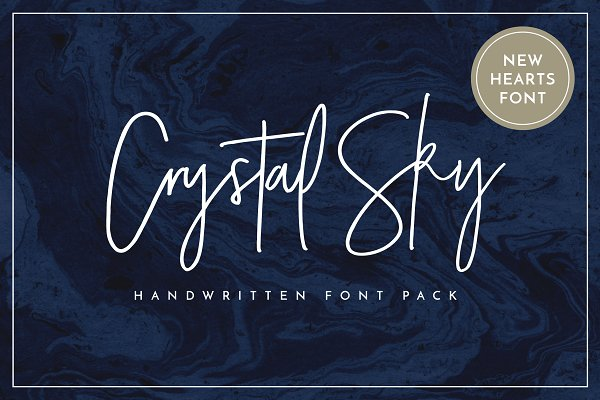 Crystal Sky Font (New Update!)
