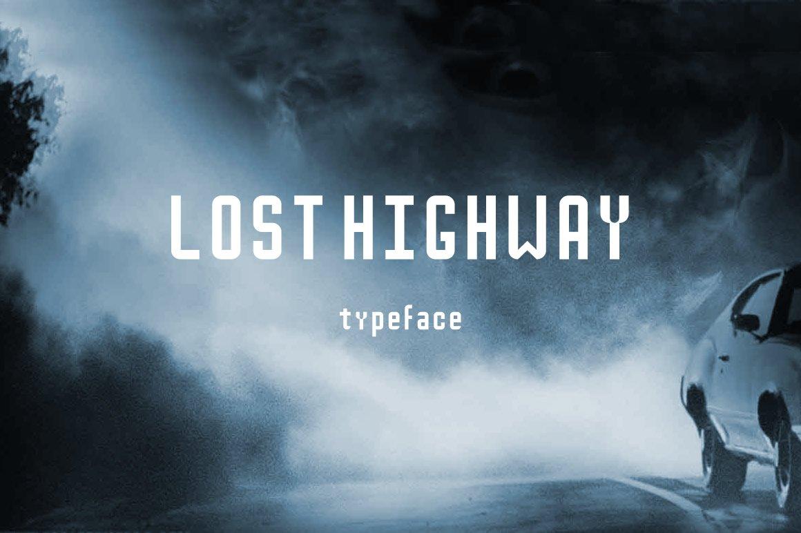 Lost Highway Sans Serif Fonts Creative Market