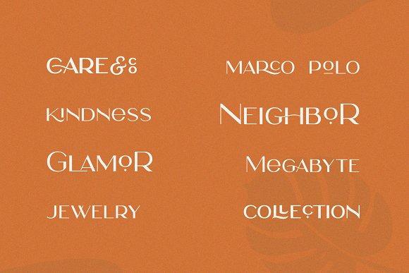Rosie Sans - Gorgeous Typeface in Sans-Serif Fonts - product preview 7