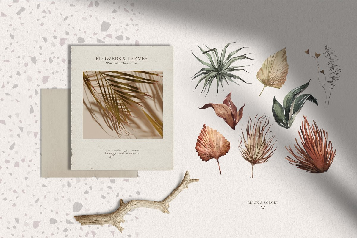 """""""SAVANNA"""" Watercolor animals set in Illustrations - product preview 2"""