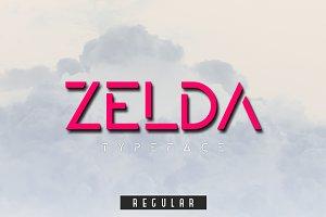 ZELDA typeface (REGULAR)