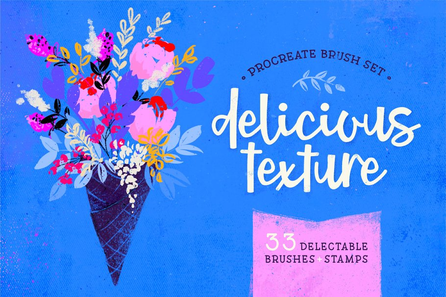 Delicious Texture Procreate Brushes in Add-Ons