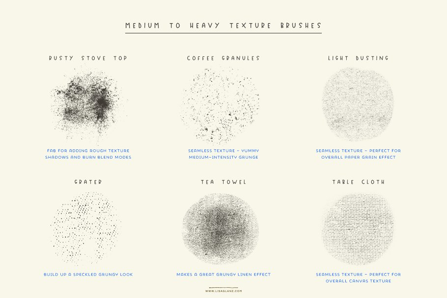 Delicious Texture Procreate Brushes in Add-Ons - product preview 6