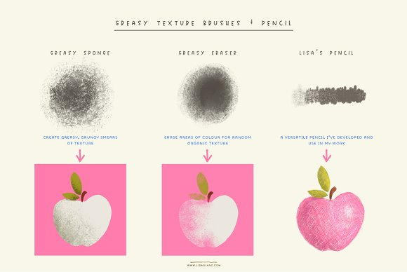 Delicious Texture Procreate Brushes in Add-Ons - product preview 7