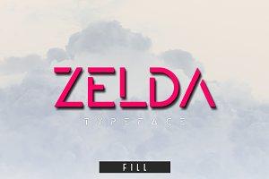 ZELDA typeface (FILL)