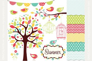 35% OFF Summer Garden Design Bundle
