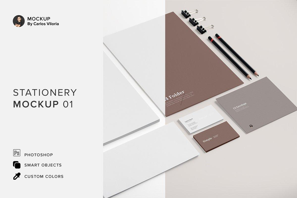 Branding Stationery Mockup 01