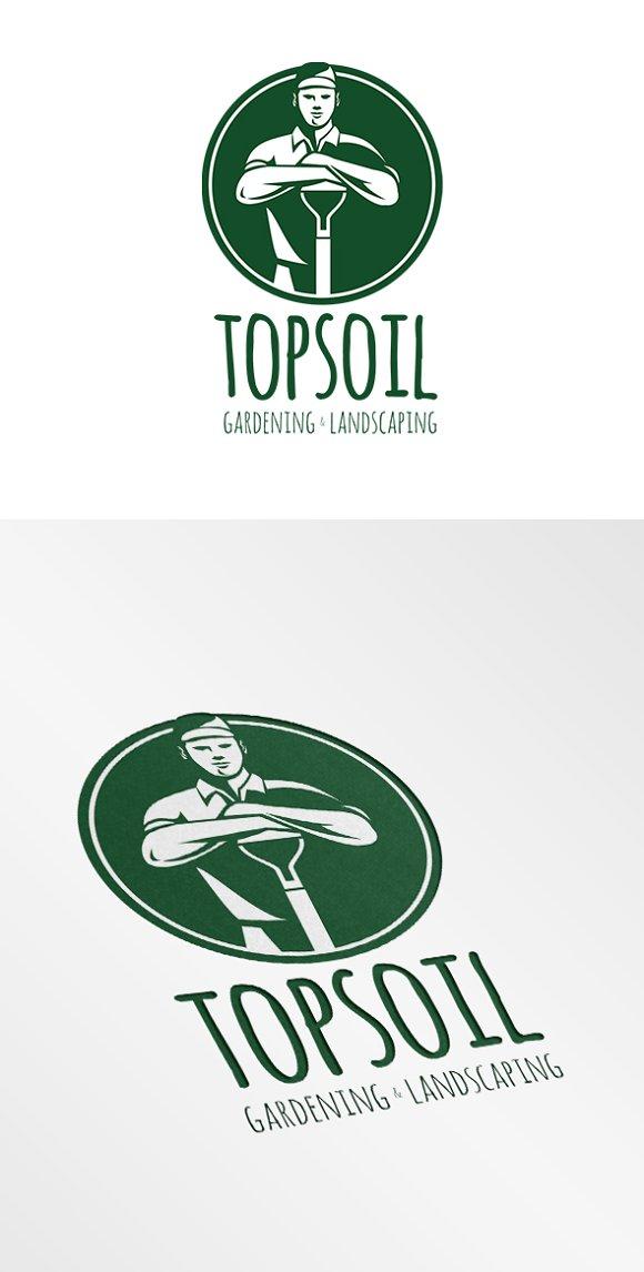 Top Soil Gardening And Landscaping L Logos