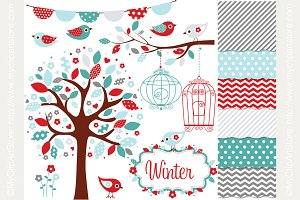 35% OFF Winter Garden Design Bundle
