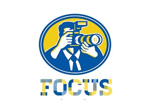 Focus Digital Photography Logo