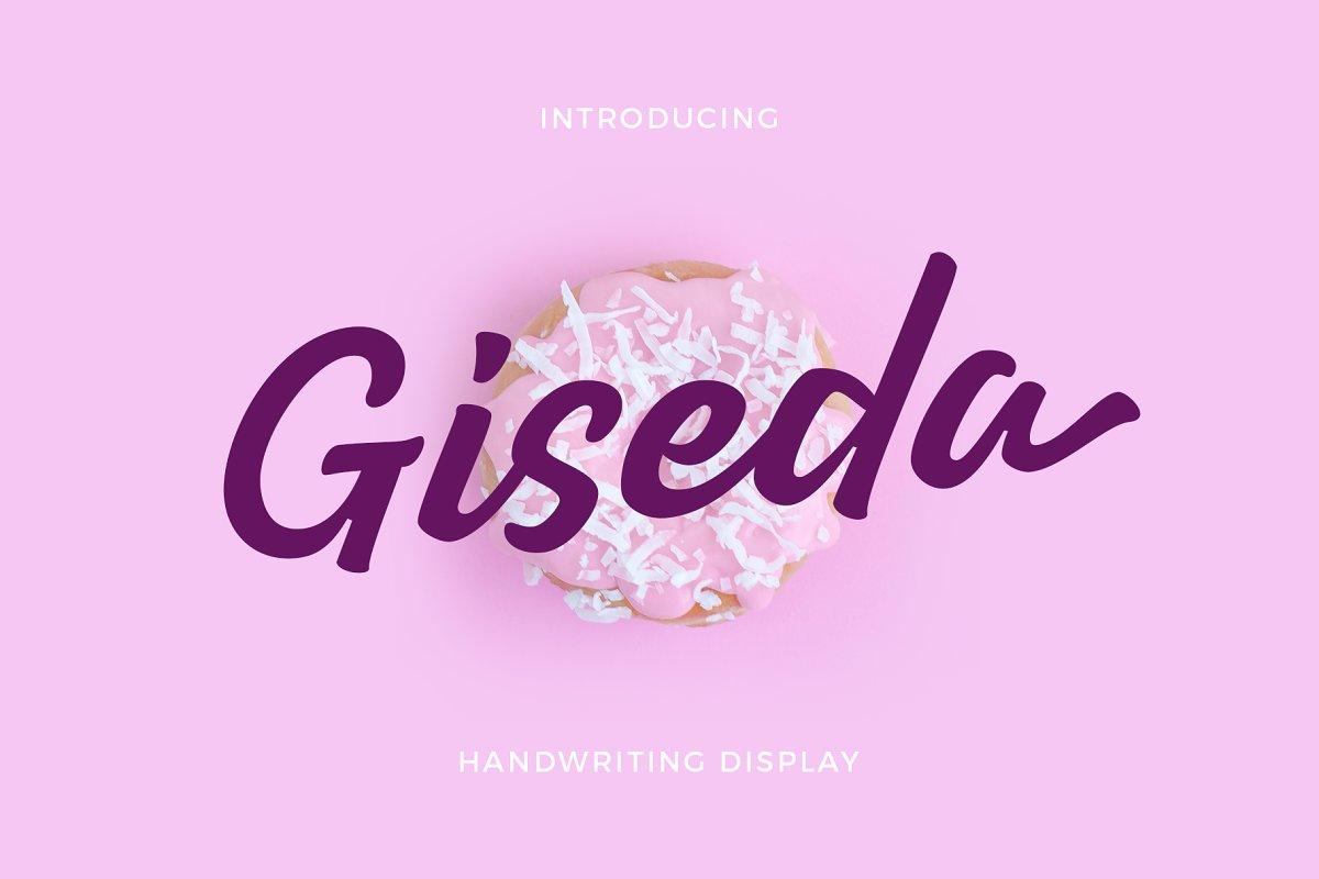 Giseda - Handwriting Display