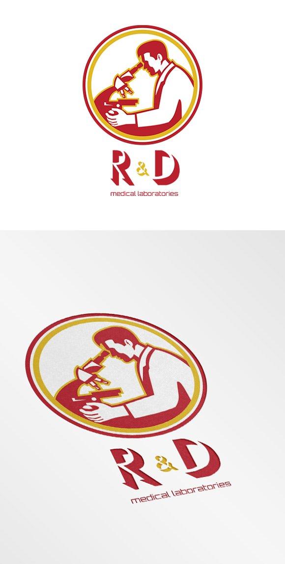 R&D Medical Laboratories Logo - Creative Daddy