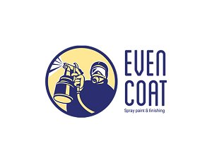 Even Coat Spray Paint Logo